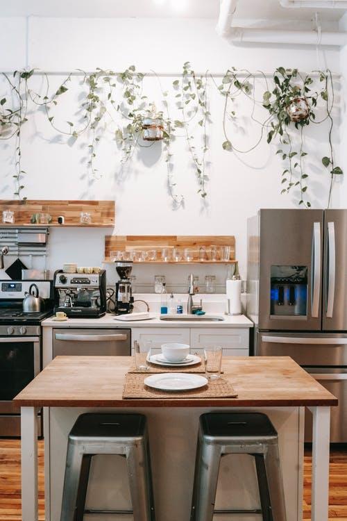 Une cuisine sous véranda: une idée originale à exploiter!